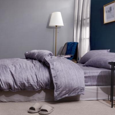 梵蒂尼Famttini 特大頂級純正天絲萊賽爾兩用被床包組-悠然時光