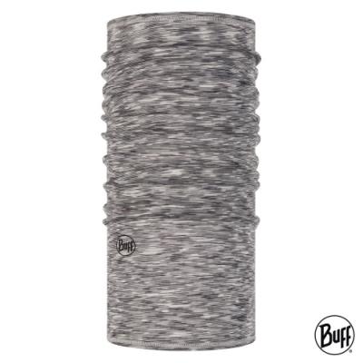 【西班牙BUFF】 舒適素面-美麗諾羊毛頭巾 岩灰髮紋