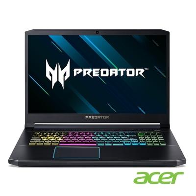 Acer PH317-55-73N6 特仕版 17吋電競筆電(i7-11800H/RTX3070/24G/512G SSD+1TB HDD/Predator/黑)