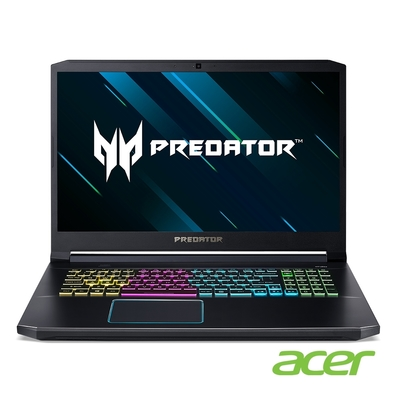 Acer PH317-55-73N6 特仕版 17吋電競筆電(i7-11800H/RTX3070/32G/512G SSD/Predator/黑)