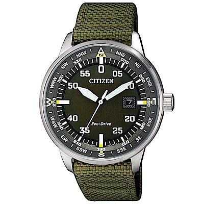 CITIZEN 星辰簡約質感光動能腕錶/ BM7390-22X