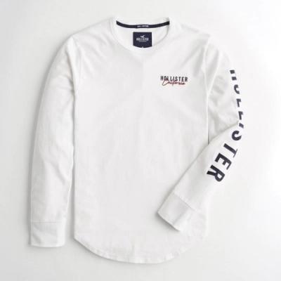 Hollister HCO 長袖 T恤 白色  1421