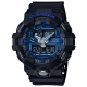G-SHOCK創新突破金屬感強悍視覺休閒錶(GA-710-1A2)/金屬藍面53.4mm product thumbnail 1