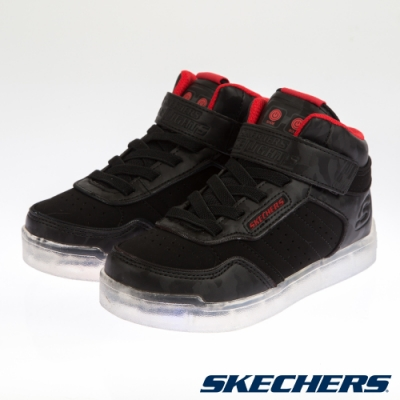 SKECHERS 男童系列 E PRO III 燈鞋-400028LBLK