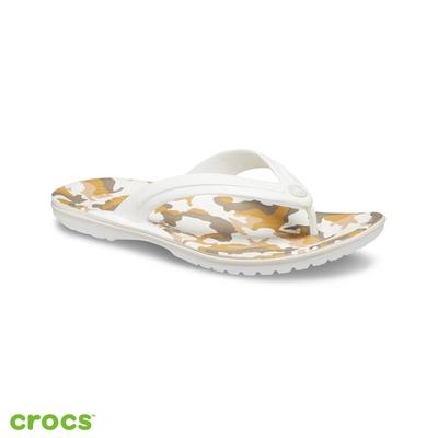 Crocs 卡駱馳 (中性鞋) 卡駱班印花人字拖-205943-94S