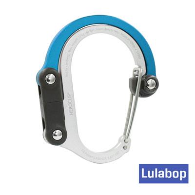 美國Lulabop HEROCLIP多功能扣環掛勾(QLIPLETBL)