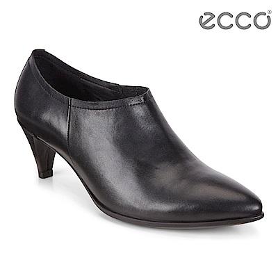 ECCO SHAPE 45 POINTY SLEEK 高雅尖頭正裝高跟鞋 女 黑