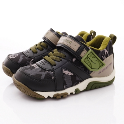 日本Carrot機能童鞋 玩耍速乾公園鞋款 TW2486黑(中小童段)
