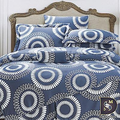DESMOND岱思夢 特大100%天絲全鋪棉床包兩用被四件組 索達克