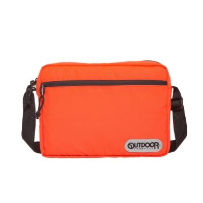 【OUTDOOR】橫式側背包-橘色 OD291103OG