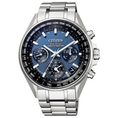 CITIZEN 星辰 廣告款領航旗艦衛星對時鈦金屬男錶(CC4000-59L)-44mm