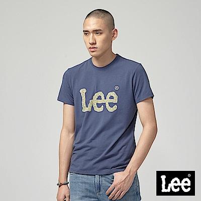Lee ART IS EVERYTHING LOGO短袖圓領T恤-丈青