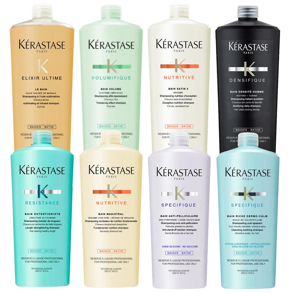 KERASTASE 卡詩 1000ml洗髮系列(含壓頭)