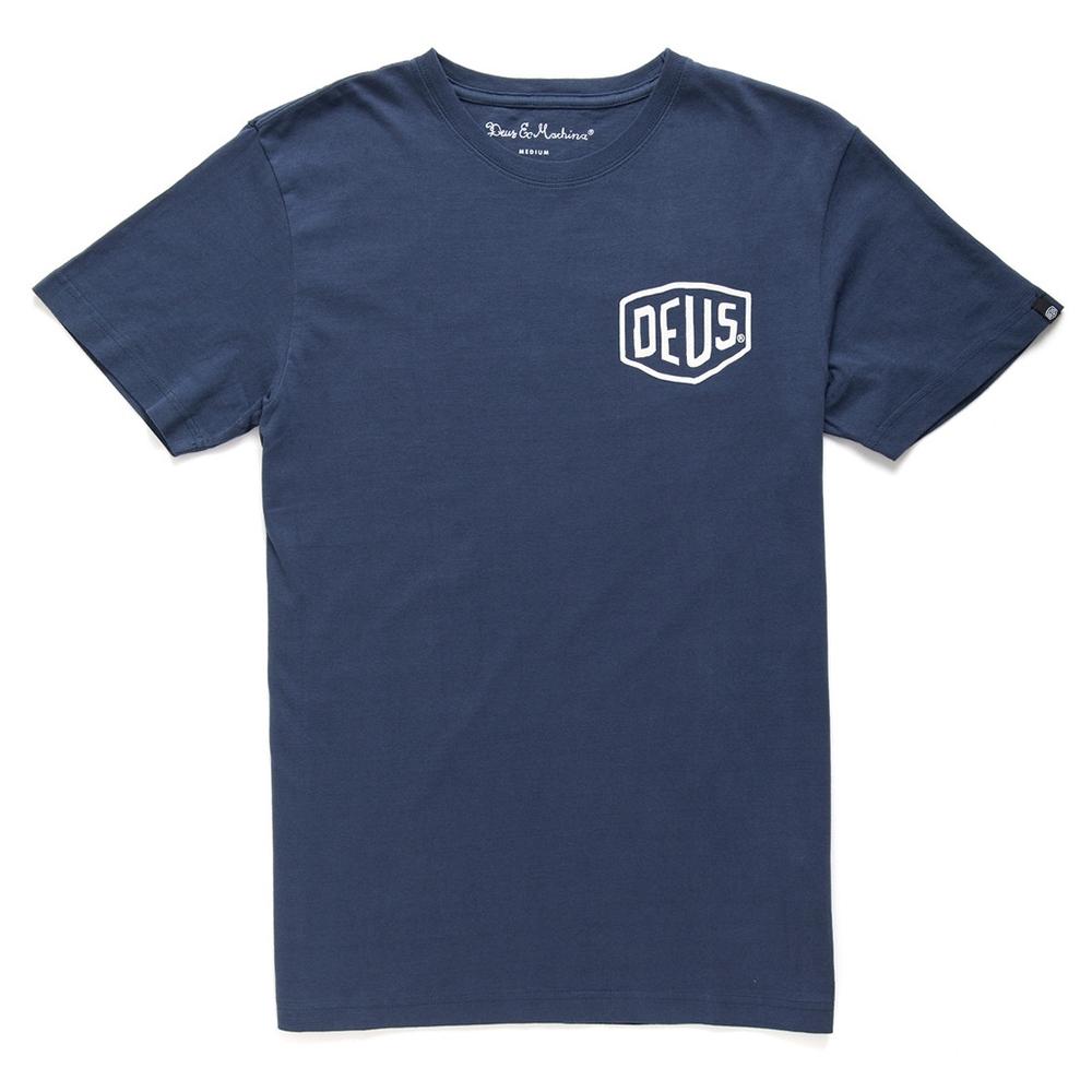 Deus Ex Machina CAMPERDOWN ADDRESS T恤 - 藍