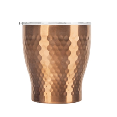Tiamo 真空錘紋陶瓷隨手杯230ml-玫瑰色(HE5164BZ)