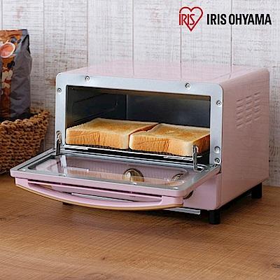 日本Iris Ohyama ricopa 經典烤箱-珊瑚粉