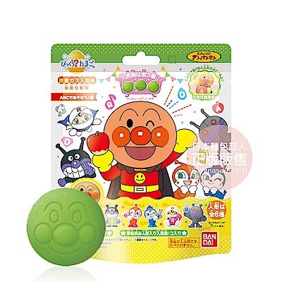 日本Bandai-麵包超人ABC遊戲篇入浴球-1入(泡泡香味/3Y+/附可愛公仔/泡澡/洗澡玩具/交換禮物)