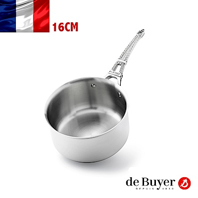 de Buyer畢耶 藍嶽頂級系列-鐵塔柄調理鍋16cm
