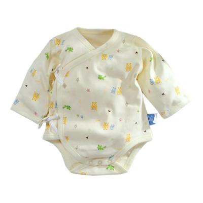 台灣製純棉厚款寶寶護手連身衣 b0071 魔法Baby