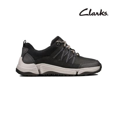 Clarks   三瓣工藝  Tri Path Lo  女休閒鞋  黑色  CLF49253SC20