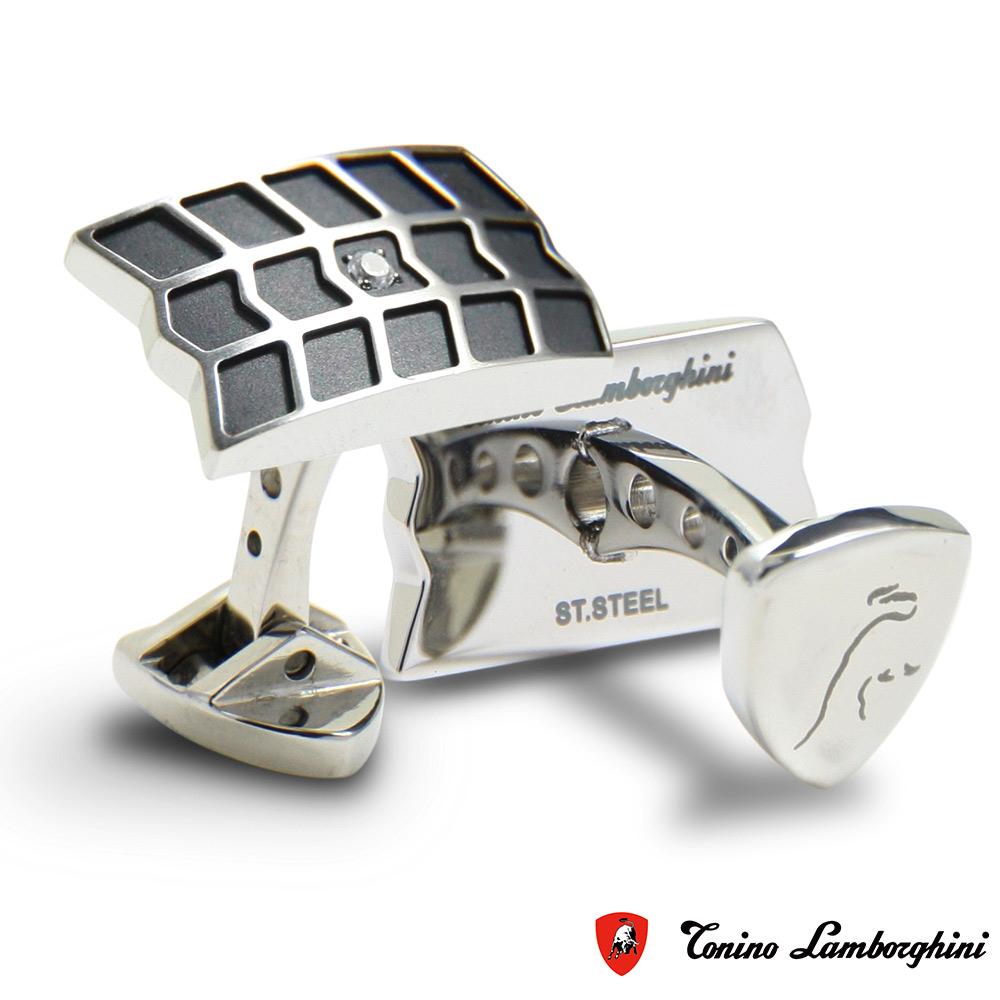 藍寶堅尼Tonino Lamborghini IMPRONTA系列 袖釦 防抗過敏