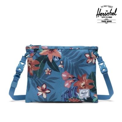 【Herschel】Alder 斜背包-夏季花天堂藍