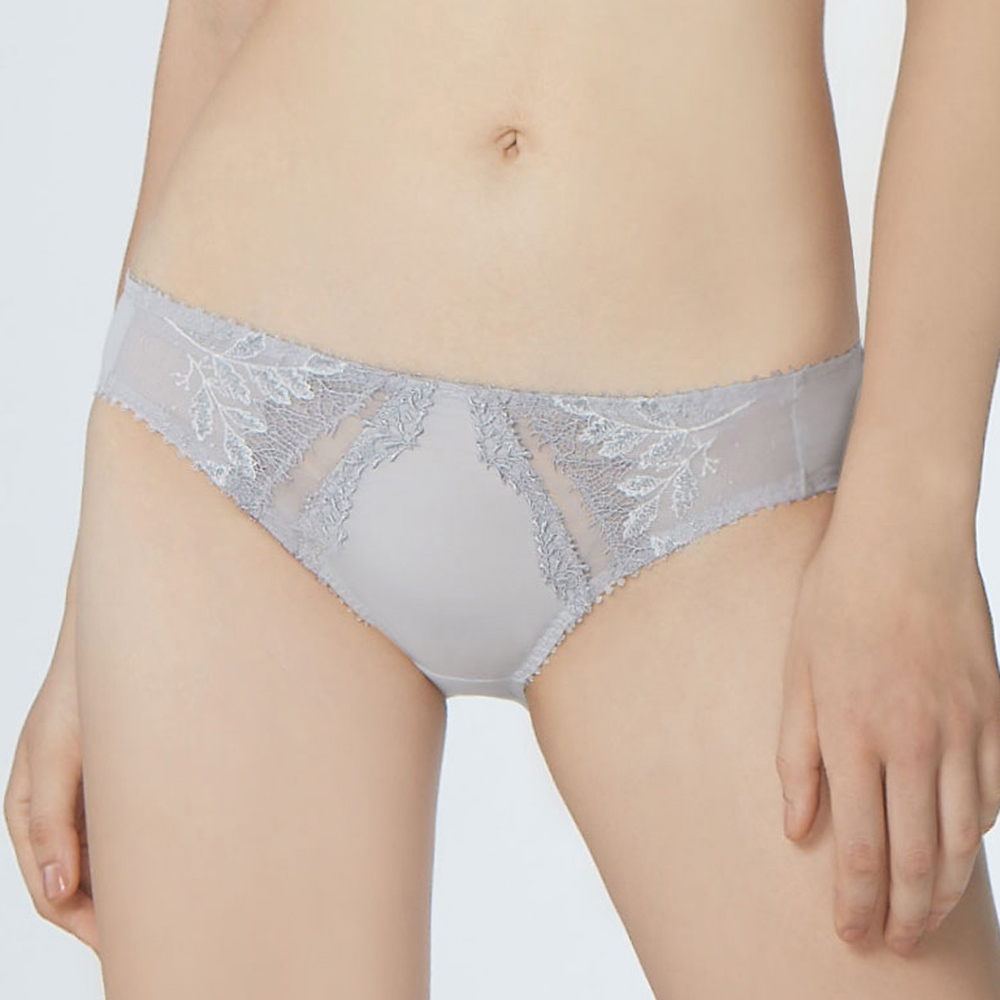 瑪登瑪朵 La Pretti  低腰三角內褲(絲光灰)