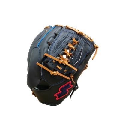 SSK  KPG250 SERIES 棒壘手套(藍紅標)  黑/寶藍   KPG250-9063P