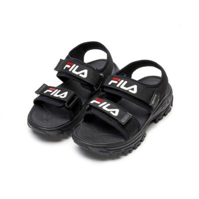 FILA TRACER SD 中性涼鞋-黑 4-S131V-013