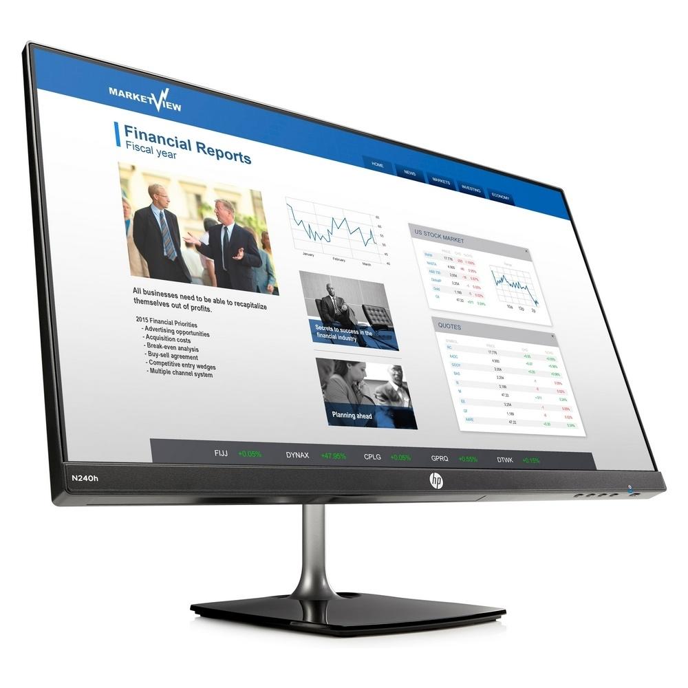 HP N240h 23.8吋 IPS可升降電腦螢幕