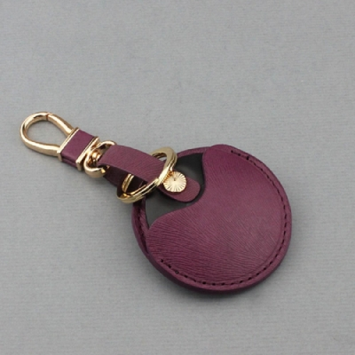 J II 馬鬚紋紅色-gogoro專用鑰匙皮套-OMC