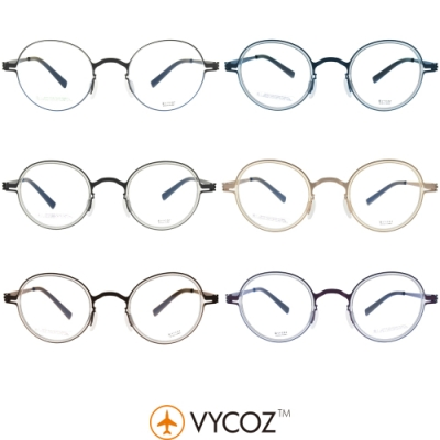 VYCOZ 光學眼鏡 細圓框 / INCLINE X 系列 #WAX