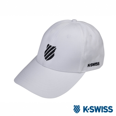 K-SWISS Baseball Caps休閒棒球帽-白
