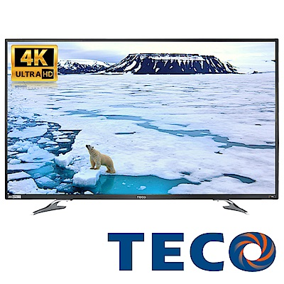 福利品-TECO東元 50型 4K液晶顯示器 視訊卡 TL50U1TRE