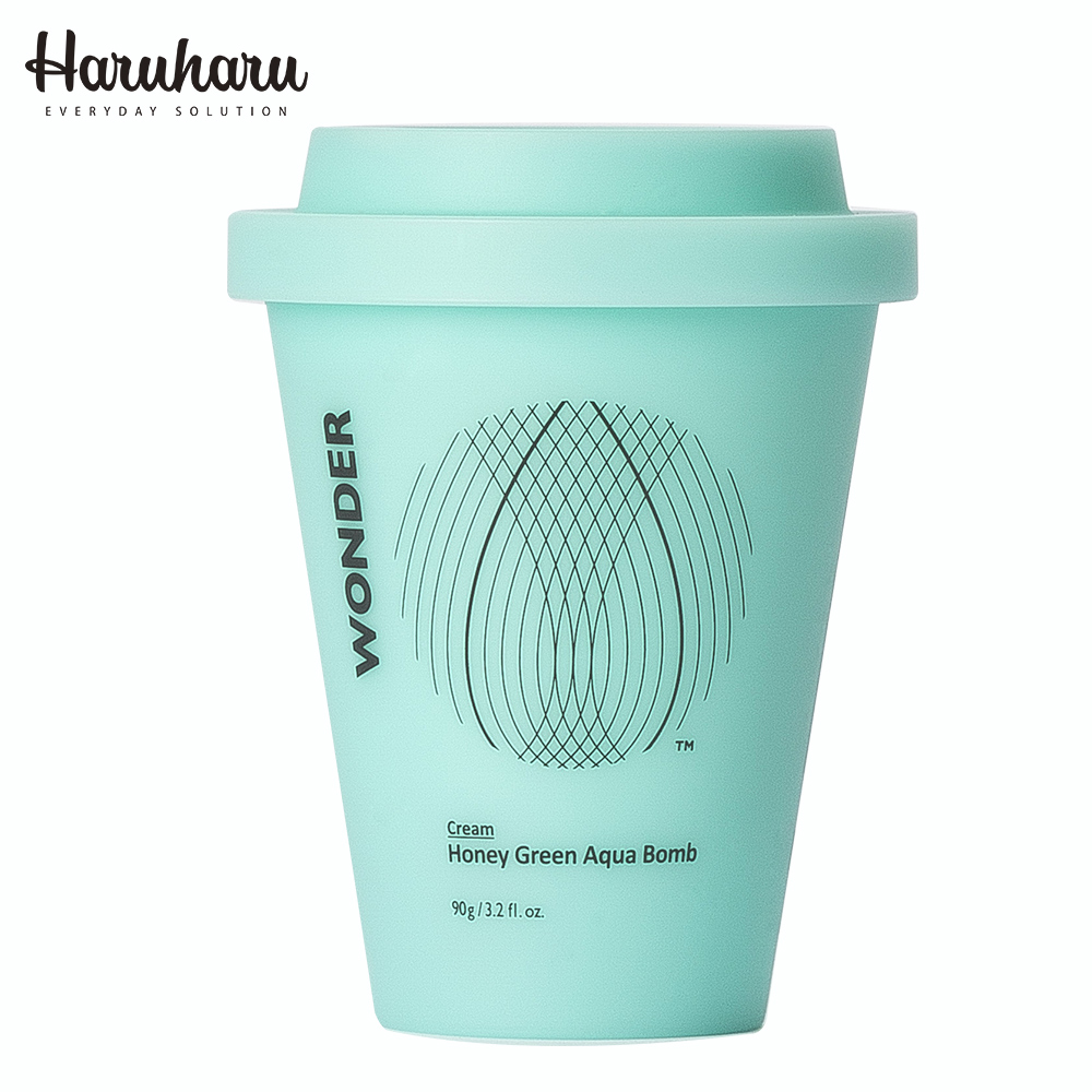 Haruharu 奇蹟活氧深層水潤蜂蜜綠茶保濕霜 90g