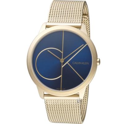 Calvin Klein minimal大 ck簡約時尚腕錶(K3M5115N)40mm