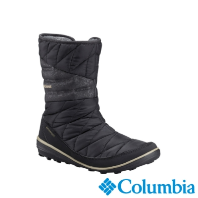 Columbia 哥倫比亞 女款- Omni TECH防水鋁點保暖雪靴-黑色