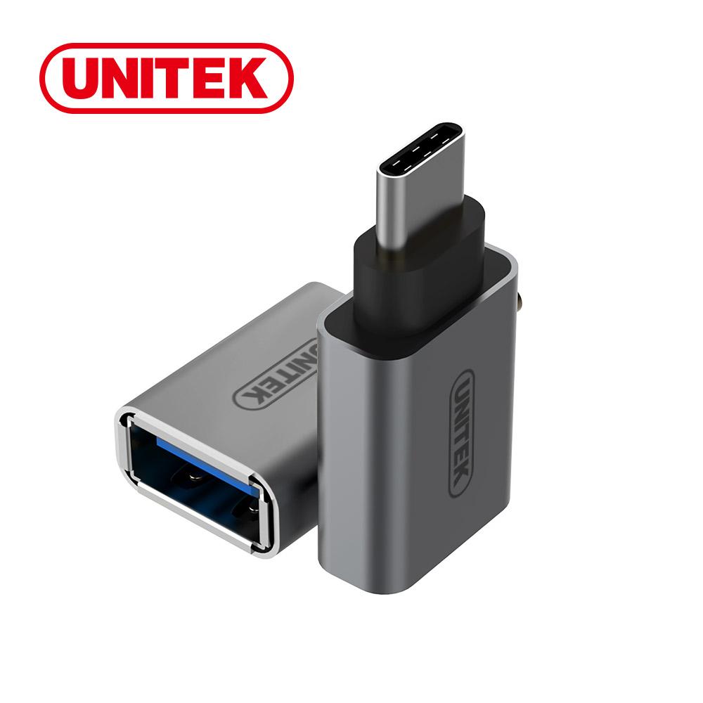 UNITEK 優越者USB3.1Type-C轉USB3.0轉接頭(灰色) product image 1