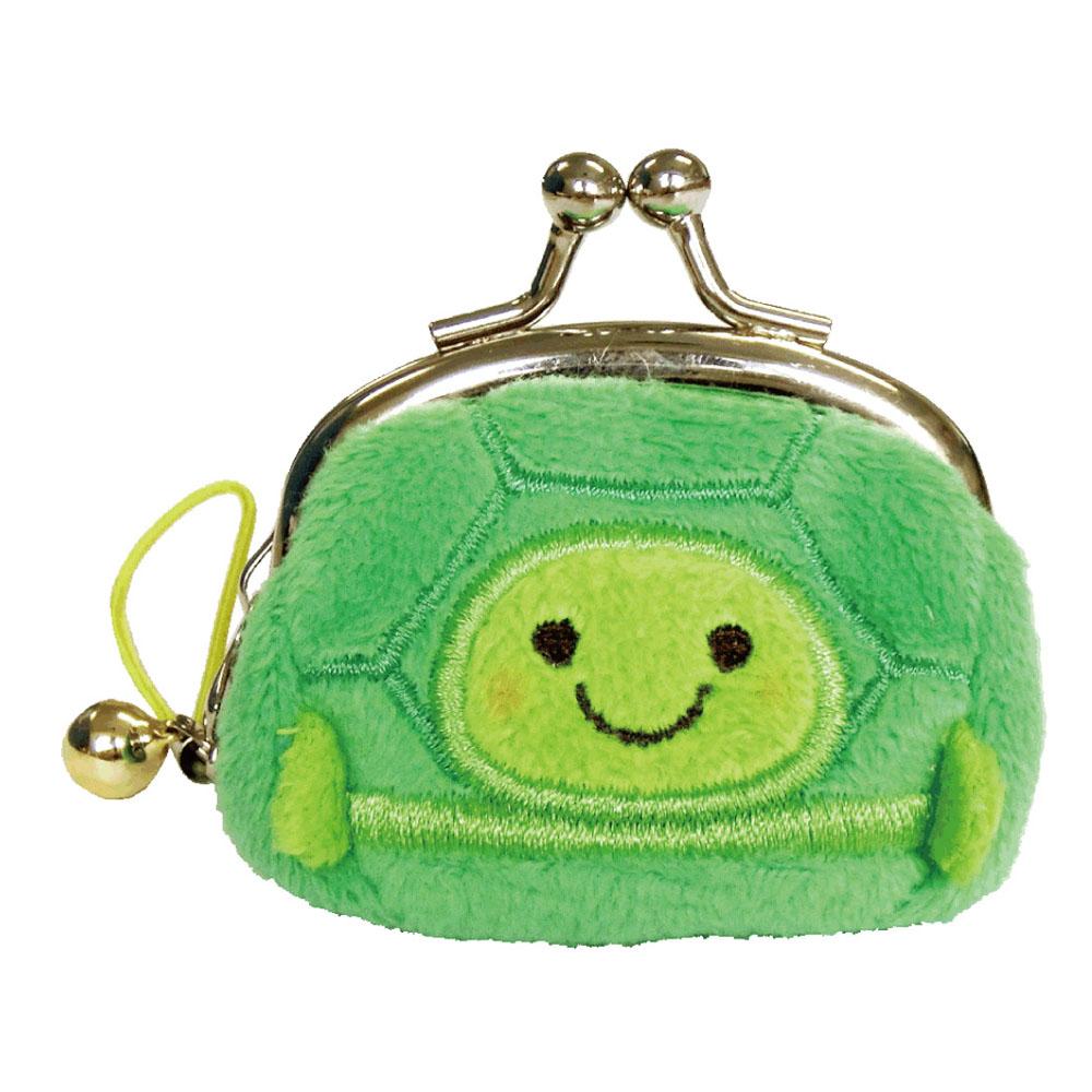 動物樂園迷你珠扣零錢包 。小烏龜  UNIQUE