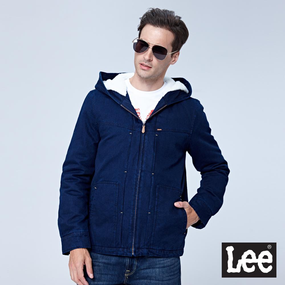 Lee 羽絨外套/RG-深藍色