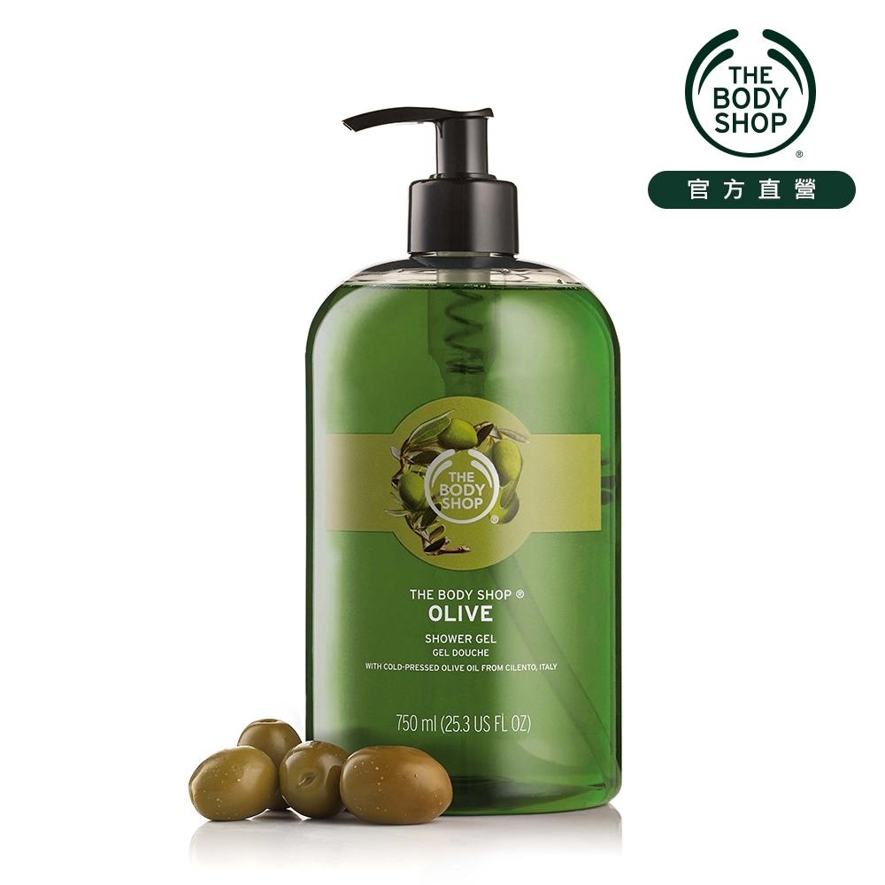 The Body Shop 橄欖活化沐浴膠-750ML