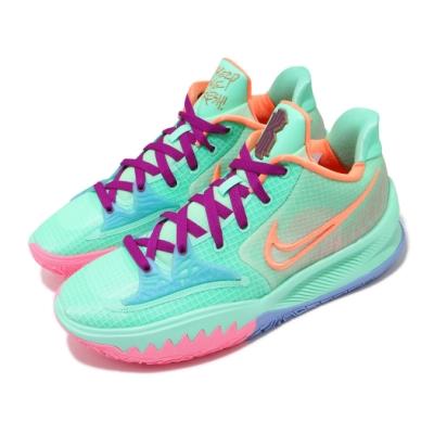 Nike 籃球鞋 Kyrie Low 4 EP 運動 男鞋 明星款 避震 包覆 支撐 球鞋 綠 彩 CZ0105300