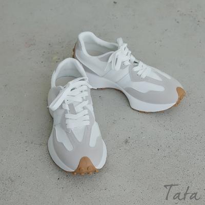 拼色焦糖底休閒鞋 共二色 TATA