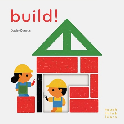 Touch Think Learn:Build! 蓋房子硬頁認知書