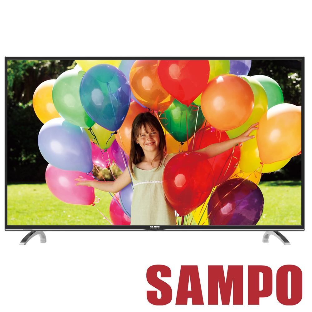 SAMPO聲寶 43吋 低藍光LED液晶顯示器+視訊盒 EM-43AT17D @ Y!購物