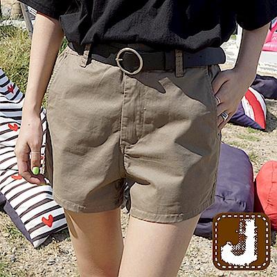 正韓 夏日百搭舒棉時尚短褲-(共三色)100%Korea Jeans