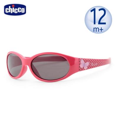 chicco-兒童專用太陽眼鏡-蝴蝶點點紅-12m+