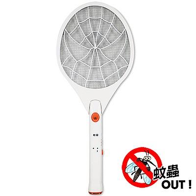 勳風 蚊子剋星防觸電捕蚊拍電蚊拍(HF-938A)充電式LED燈泡