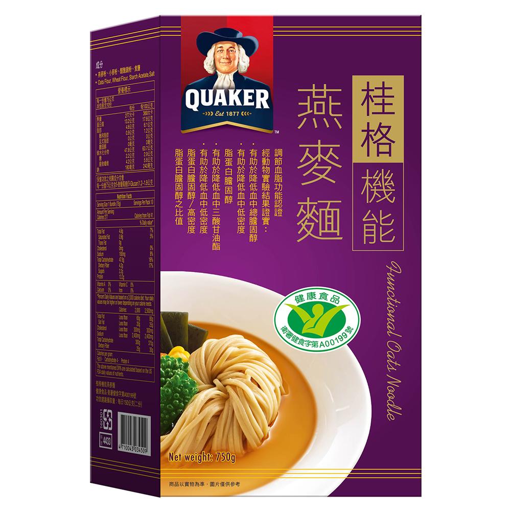 桂格 機能燕麥麵(75gx10入)