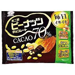 不二家 可可70%巧克力-花生(147.2g)